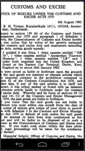 lb customs seizure 1982